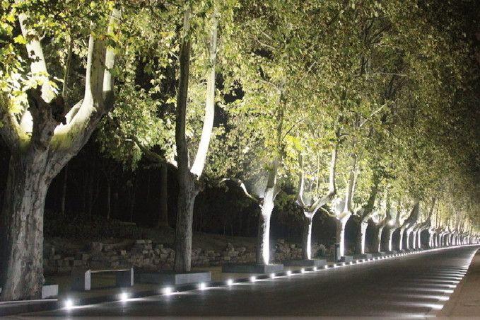 LED Flombelysning