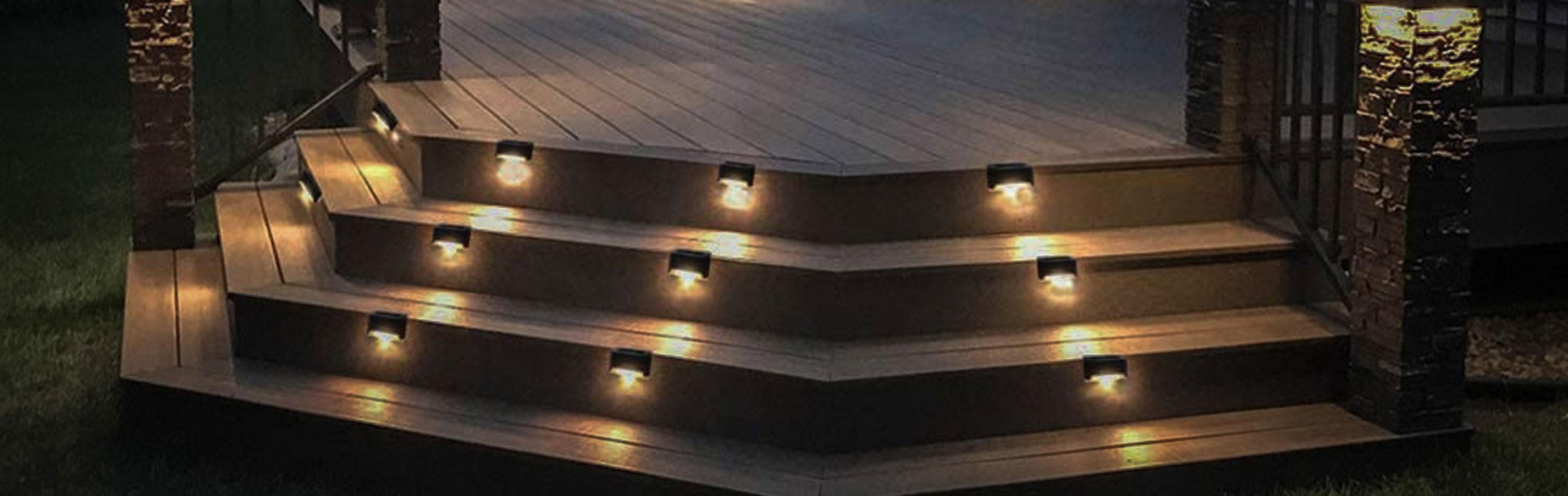 LED Trapp og Terrasselys