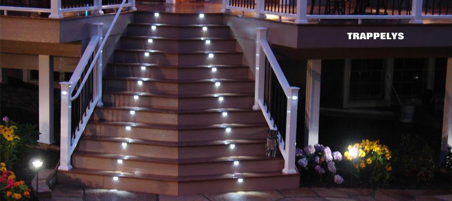 LED trappelys