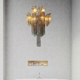 Nordesign Carales lysekrone 12, diameter 60 cm, høyde 90 cm