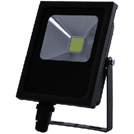 High Power 10W LED Flomlys lampe, DC12-24V, Luminous Flux: 750lm