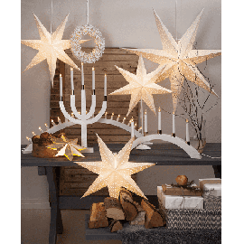 70 cm antikk E14 julestjerne