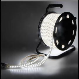 LEDstripe Byggbelysning 230V Trommel 25M 4000K