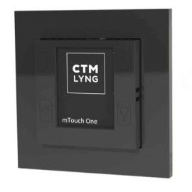 CTM Lyng mTouch One Sort Multi touch termostat