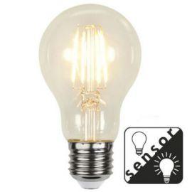 LED Pære E27 Dag/Natt SENSOR Filament 4,2W