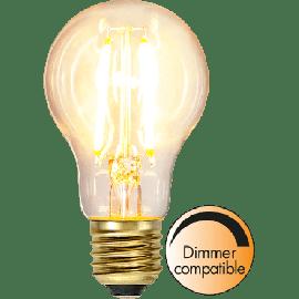 LED Filament Soft Glow 2100K 6W, dimbar