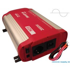 Omformer NDS Smart-In m/IVT SP2000I 2000W ren sinus 12V
