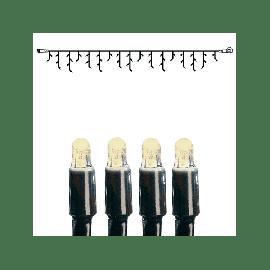 Utvidelse System LED - Lysgardin 300x40 cm, LED (x50), Sort kabel, Varmhvit