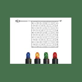 Start System LED + Lysnett 300x300 cm, Micro (x192), Sort kabel, RGB