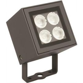 LED 8W Veggspotlight Brick, Mørkgrå, IP65