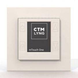 CTM mTouch One termostat polarhvit 16A 2300W