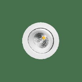 SG Junistar Matt hvit 6W LED 3000K Ra>95 10 års garanti