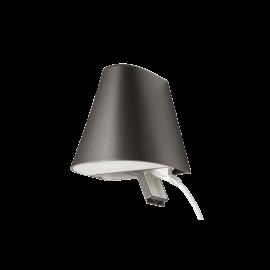 SG Spike Sort downlight-Uplight m/ kontakt 800lm 3000K Ra80 Faseavsnitt