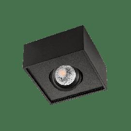 SG Cube Lux Sort 7W LED 2700K Ra 98, 10 års garanti