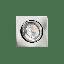 SG Junistar Square Lux Børstet 7W LED 2700K Ra 98