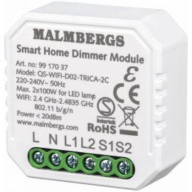 WIFI SMART BOKSDIMMER 2-KANAL / SERIEVENDER, 2X100W LED