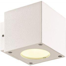 Fasadearmatur CUBE, 2X3W, LED, HVIT, IP54
