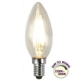 Illumination Mignon klar E14 Dim to Warm 2200K-3000K 300lm