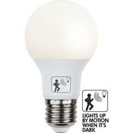 LED pære E27 Opal Bevegelse sensor 7W LED