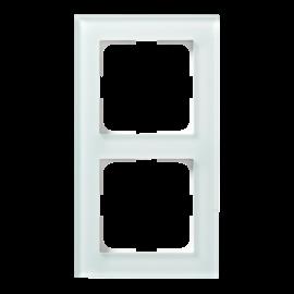 Kombinasjonsplate Plus Option hvit frostet 2H ELKO