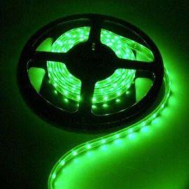 Vanntett Grønn LED Stripe 3528 SMD, 60 LED/M, Length: 5M IP65