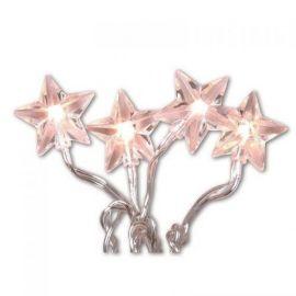 Lyslenke Star 435 cm, LED (x30), Klar (kaldhvitt lys)