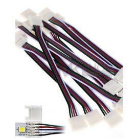RGBV Connector, til RGB varmhvite led striper med 5 ledere