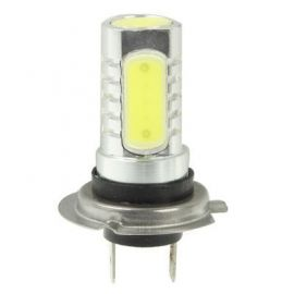 6W H7 White LED tåke lys for for bil, DC 12V