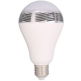E27 lyspære med RGB og Blåtann høytaler integrert
