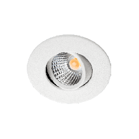 SG Nano Tilt Matt hvit 4W LED 2700K Ra>90