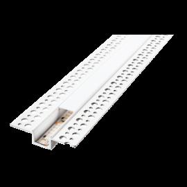 SG StripLine 1,8m Hvit profil innsparkling