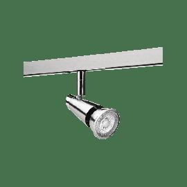 SG Zip 230V Spot Børstet stål 6W LED 2700K Ra>90