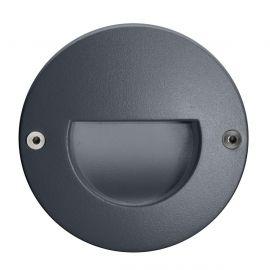Unilamp Dot Round Ramp 1W 3000K Grafitt