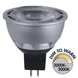 SPOTLIGHT LED 12V GU5.3 7W DIM TO WARM 2000-3000K 370LM