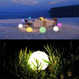 WIFI LED ball 15cm RGB, Google Home, Alexa komatibel