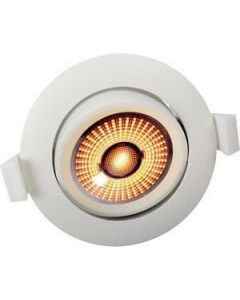 Unilamp Limbo 10W WarmDim Downlight Matt Hvit