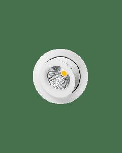 SG Junistar Exclusive Matt hvit 9W LED 2700K 10 års GARANTI