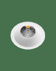 Soft Isosafe 6W LED DimToWarm Hvit 2000K-2800K