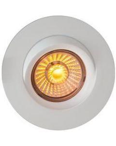 Downlights corona ip44 dim to warm 8w matt hvit