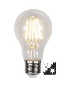 LED pære E27 Dag/Natt SENSOR 2700K 4,2W