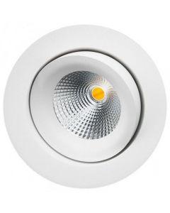 Junistar IsoSafe DimToWarm Matt hvit 7W LED 2000-2800K Ra95