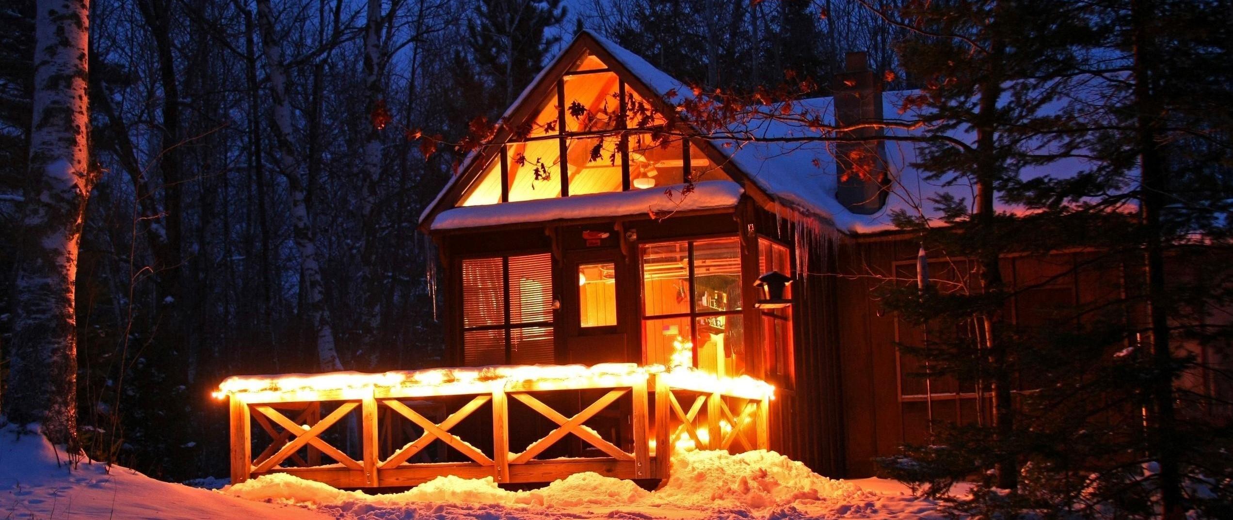 LED Hytte lys