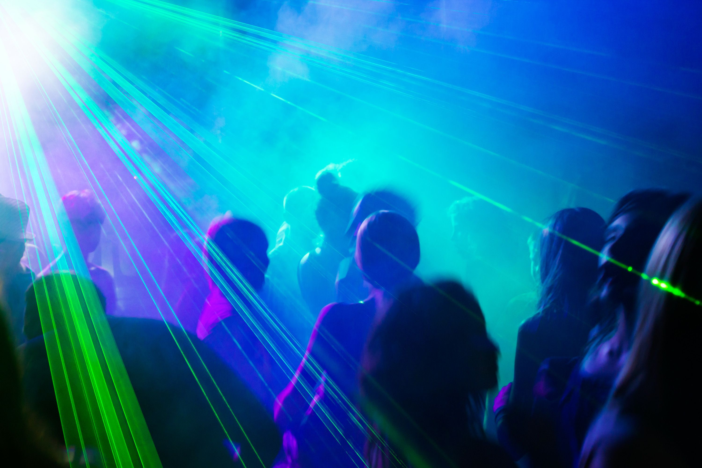 LED Disco lys