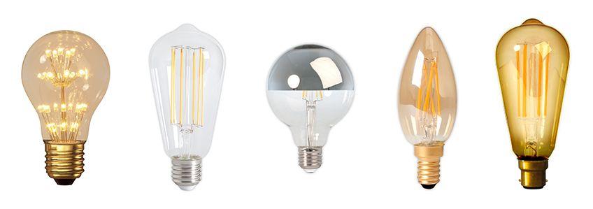 LED pærer 230V-12V