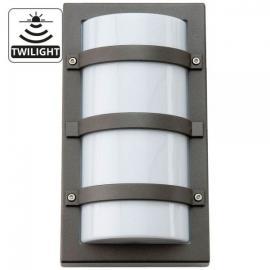 SG TRIO Grafitt LED 10W M/SKUMRINGSRELE