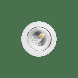 Gyro DimToWarm Matt hvit 6W LED 2000-2800K Ra>95