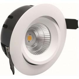 LED-downlight Greven, 230V, Hvit, IP21