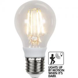 LED pære E27 Bevegelse sensor 4,5W LED