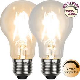 LED Pære E27 DimToWarm 2200-3000K