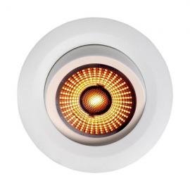 Saturn Gyro Downlight Warmdim 8W LED Matt hvit